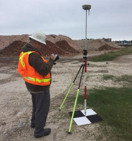 Drone Prep for Sand Piles