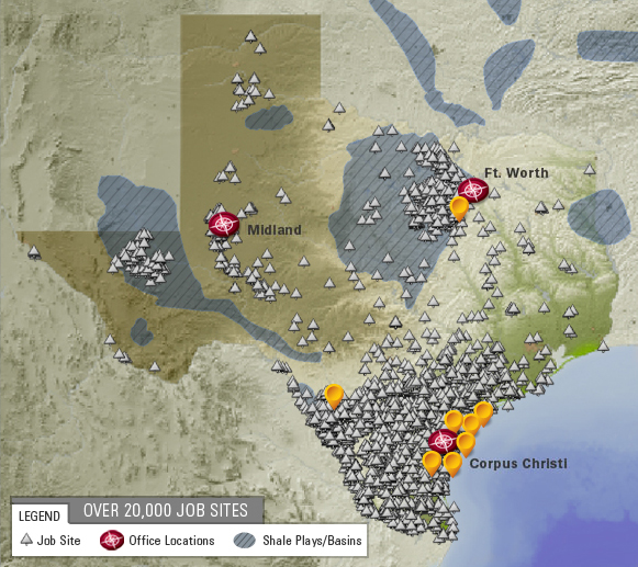 Our Texas Footprint